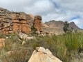 Cederberg-park-Kromrivier-cave-start-of-hike