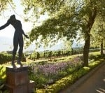 Delaire Graff Estate Gardens and Anton Smit Faith Sculpture.v01