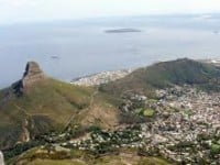 Table mountain tented camp hike