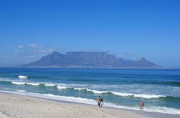 table mountain hiking is one of the main attractions in Cape Town