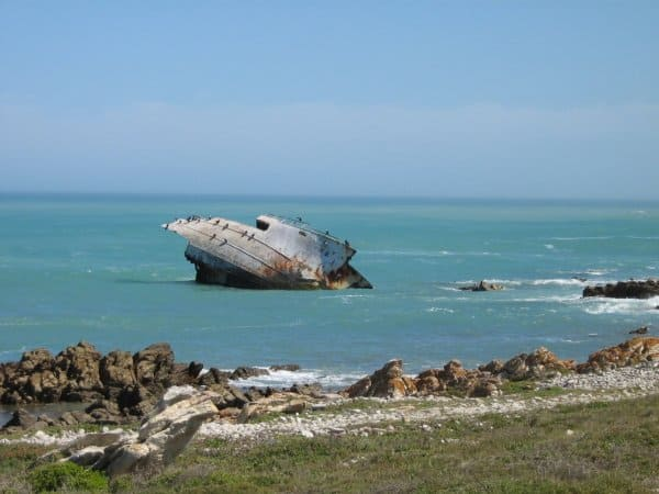 Shipwreck at Southernmost Africa