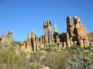 Cederberg rock formations and scenery