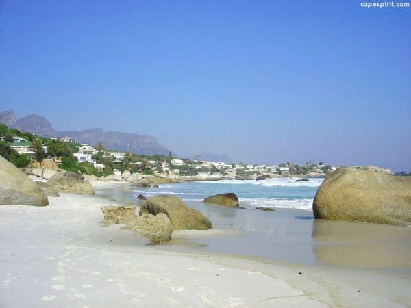 Clifton is a popular beaches in Cape Town