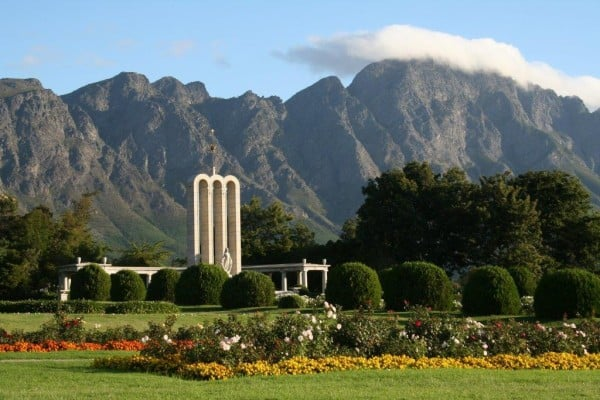 hiking in historic franschhoek, one of the Cape's highlights