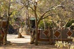 Bushveld camping in natural environment