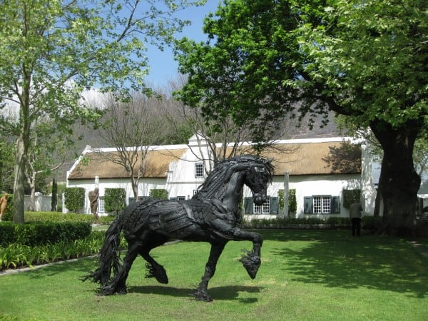 Cycling in the Cape Winelands- historic farms and towns