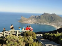 Views on a Cape Town guided hike