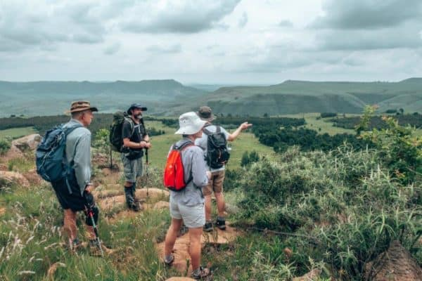 Drakensberg Giants Castle biodiversity explained by guide