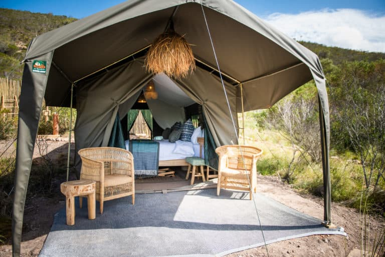 Mozambique Camp - Accomodation- Garden Route Game Walk
