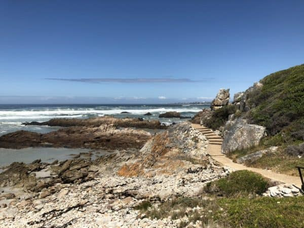 Seaviews on cliffpath walk in Hermanus