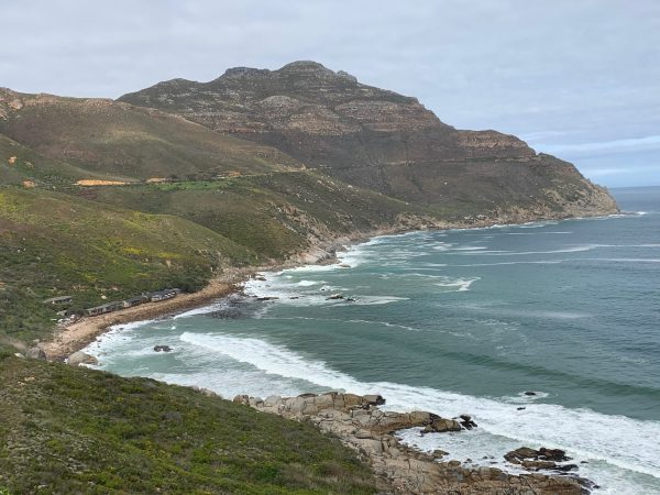 Scenic Chapmans Peak drive, Cape Town