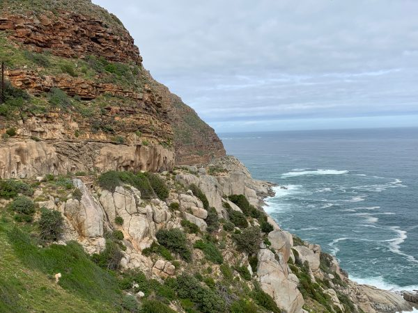 Mountain and coastal scenery from Chapmans Peak drive