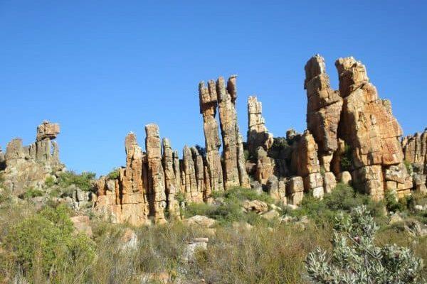 Visit Truitjieskraal to explore Cederberg rock formations