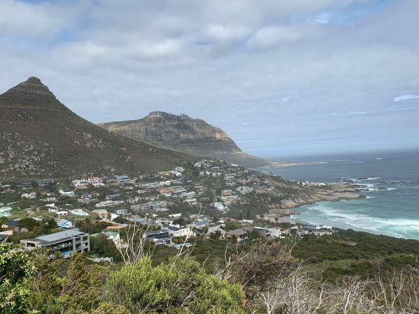 Cycling from Camps Bay to Hout Bay, cape Peninsula